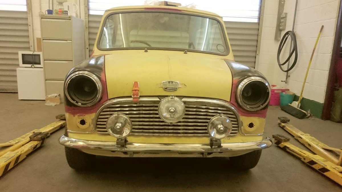 1960 Austin Mini Seven project - ready for paint SOLD (picture 6 of 6)
