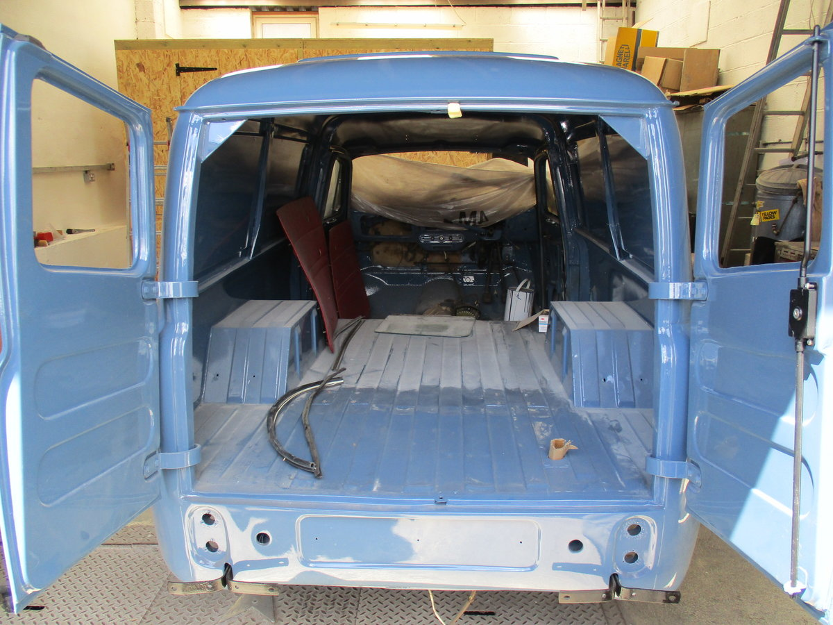 1960 Austin a55 half ton van, heartbeat film star For Sale (picture 6 of 6)