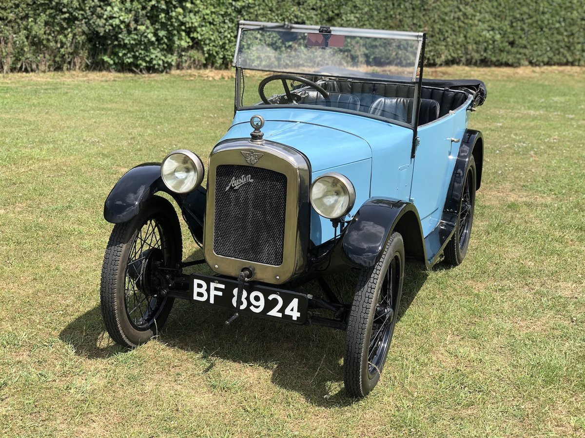 1929 Austin Seven Chummy SOLD (picture 13 of 24)