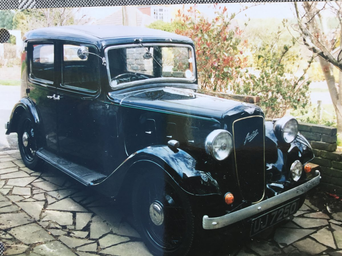 1936 Austin 10 Litchfield Saloon For Sale (picture 1 of 5)