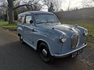 1956 AUSTIN A30 COUNTRYMAN.  RESTORED. LOW MILES.