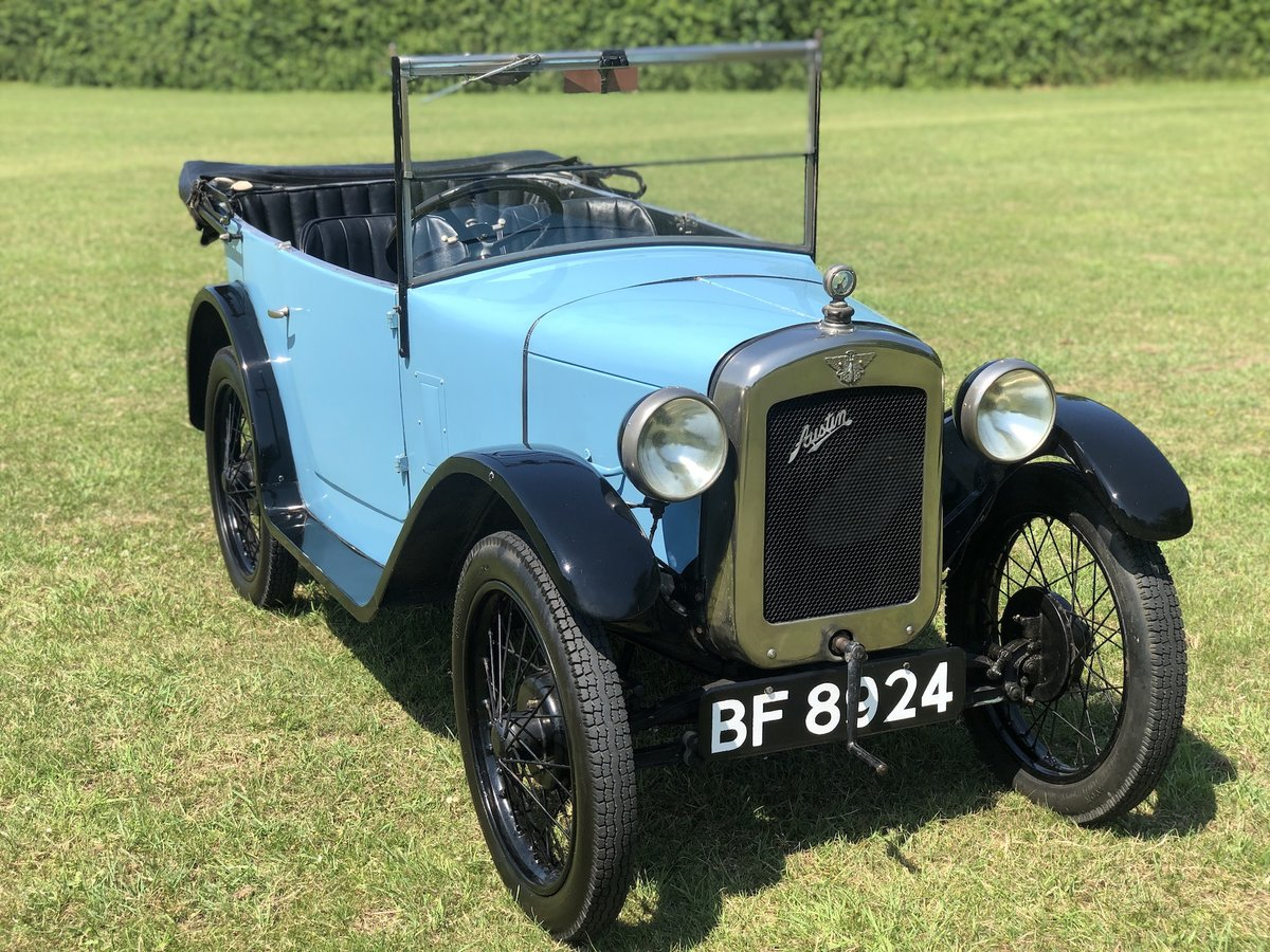 1929 Austin Seven Chummy SOLD (picture 1 of 24)