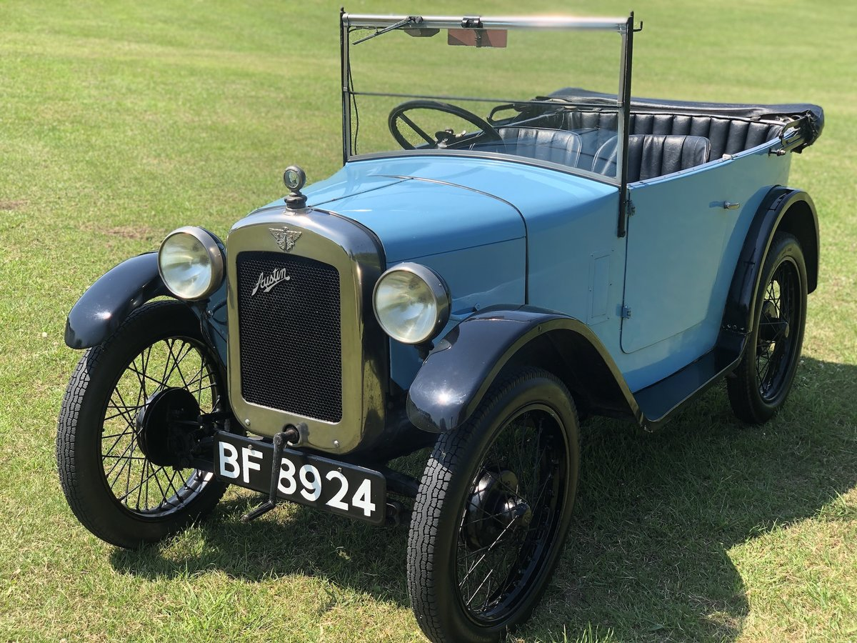 1929 Austin Seven Chummy SOLD (picture 7 of 24)