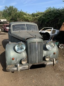 1954 Austin sheerline a125 barn find