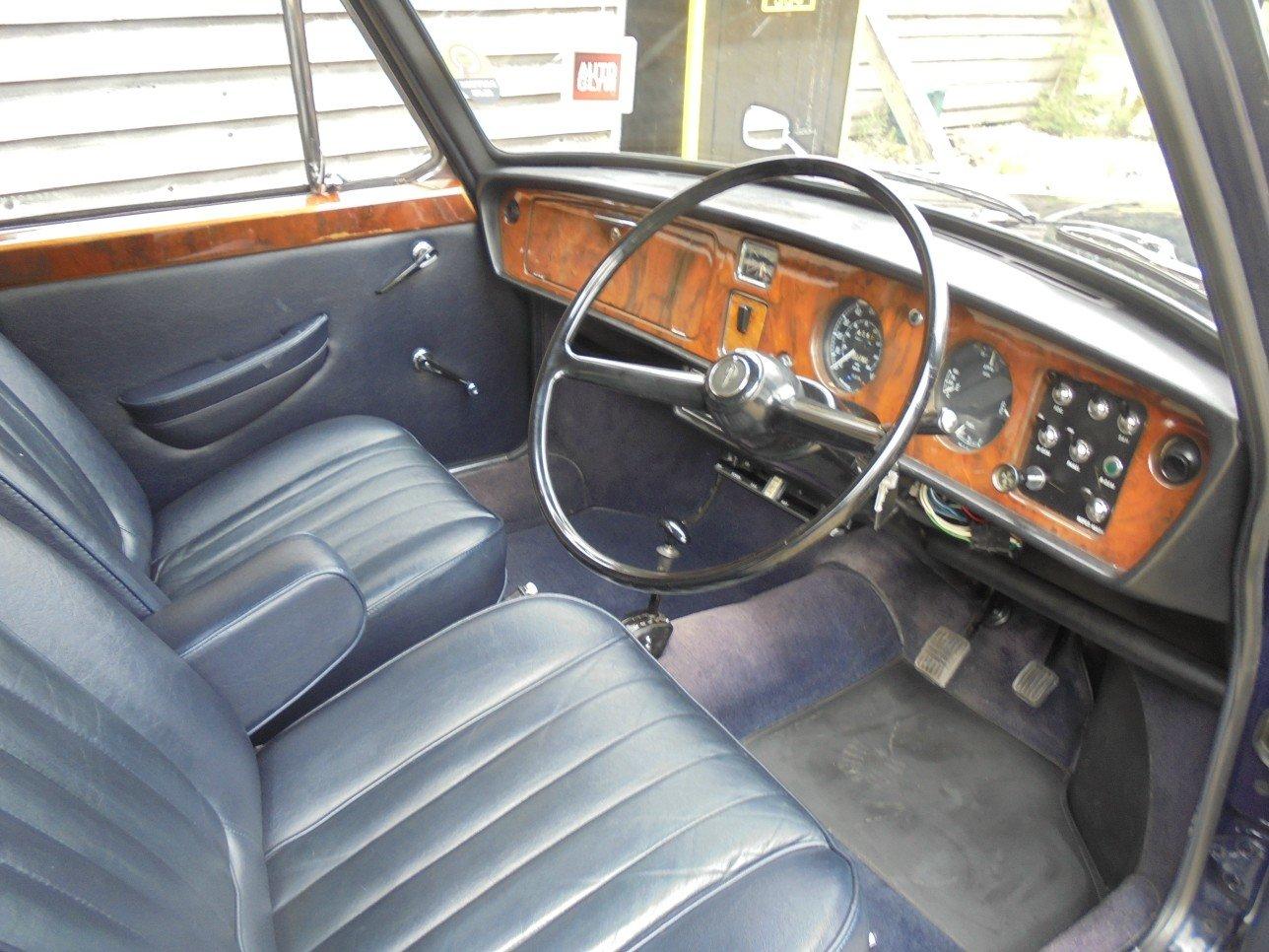 1973 Austin Princess Vanden Plas 1300 MK 111 Automatic 4 Door. For Sale (picture 5 of 6)