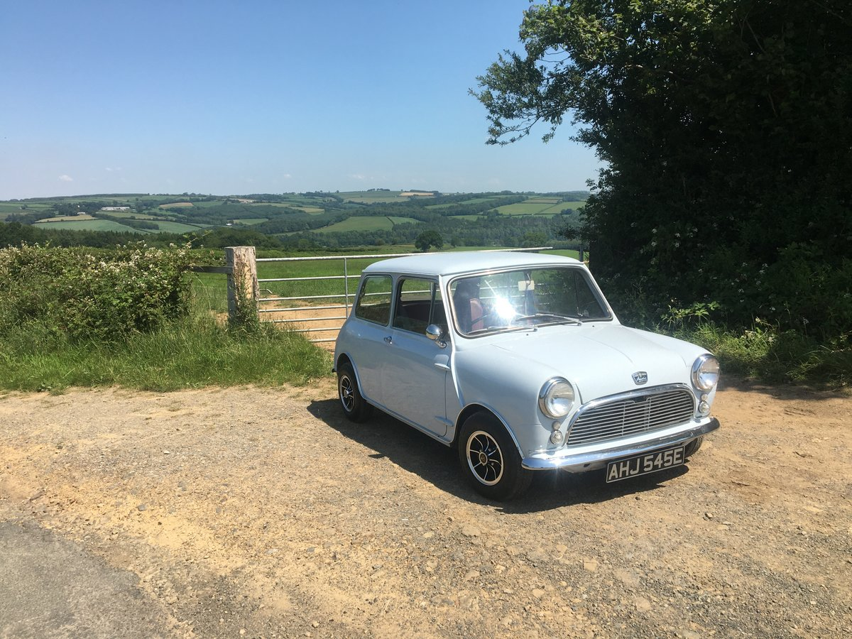 1967 Austin Mini 1000 Mk1  For Sale (picture 3 of 6)