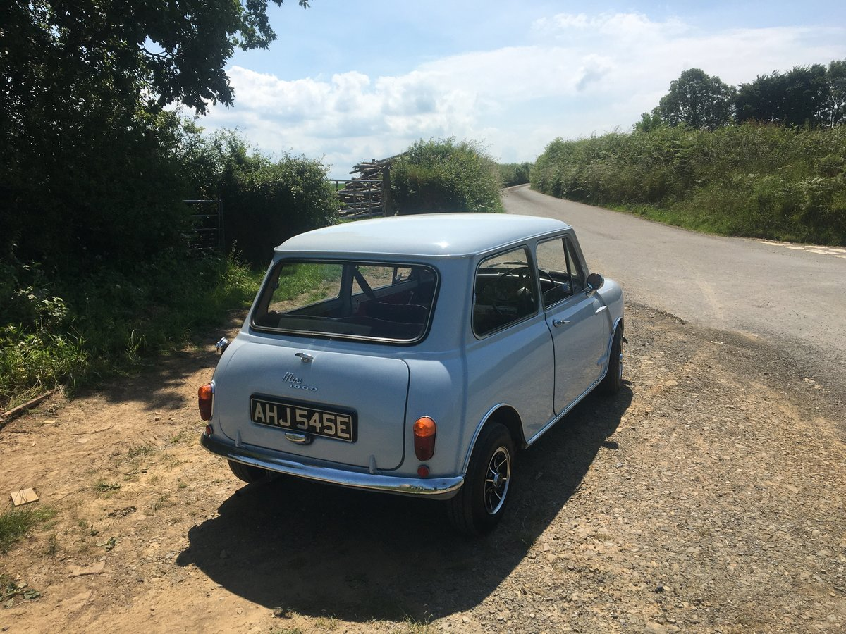 1967 Austin Mini 1000 Mk1  For Sale (picture 4 of 6)