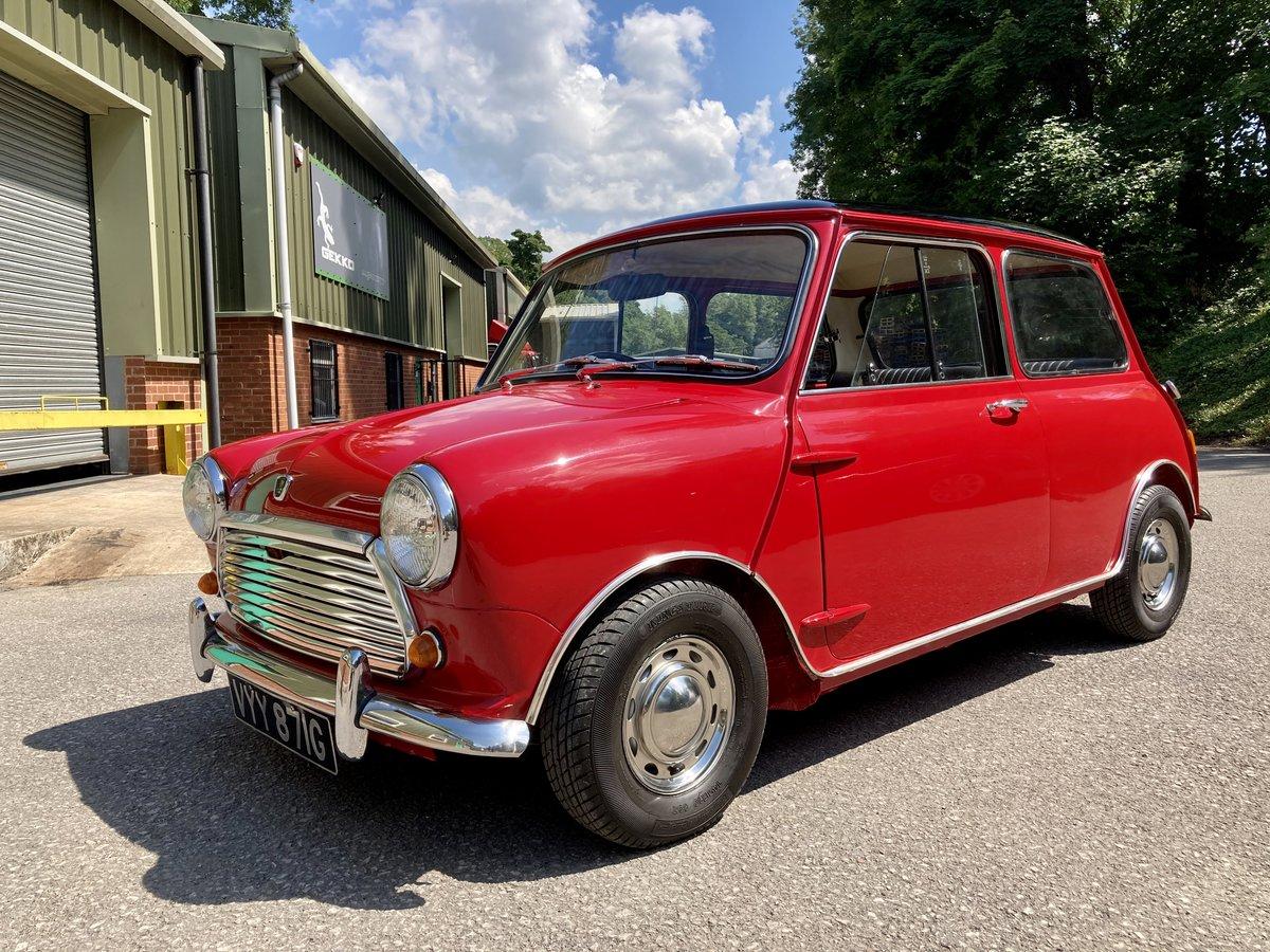 1969 Austin Mini Cooper Mk2 Genuine and restored  SOLD (picture 1 of 6)