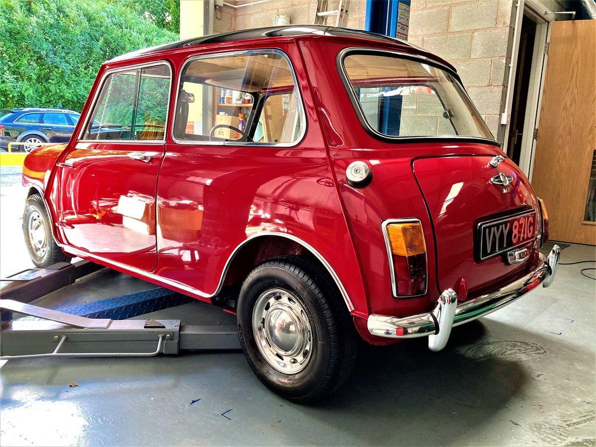 1969 Austin Mini Cooper Mk2 Genuine and restored  SOLD (picture 2 of 6)