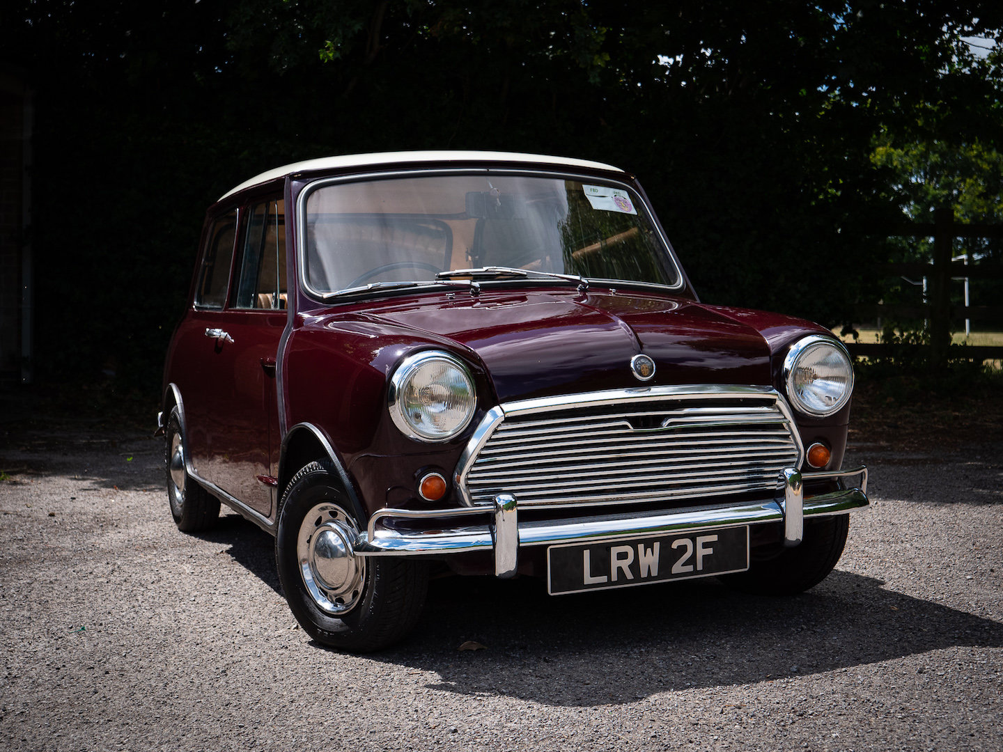 1968 Austin Mini Mk2 1000 Super-de-Luxe For Sale (picture 1 of 6)