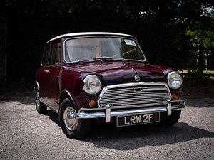 Austin Mini Mk2 1000 Very Early Super-de-Luxe