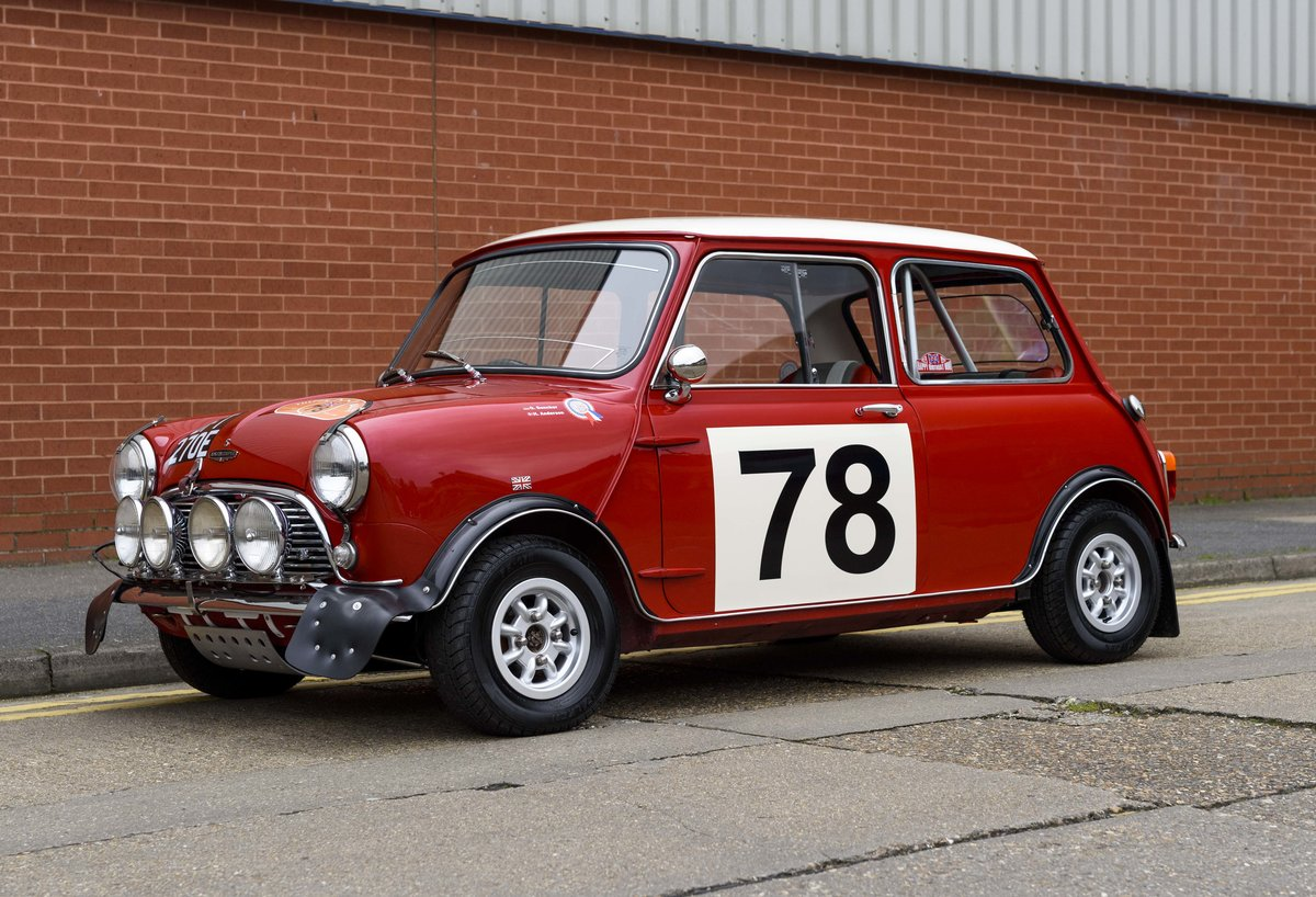 1967 Austin Mini Cooper Built to S Works Rally Specification For Sale (picture 1 of 24)