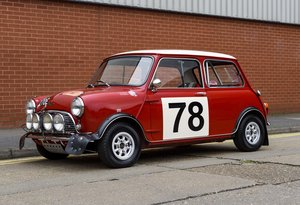 1967 Austin Mini Cooper Built to S Works Rally Specification For Sale