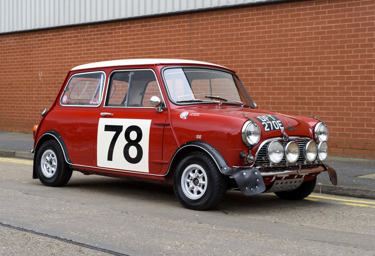 1967 Austin Mini Cooper Built to S Works Rally Specification For Sale (picture 2 of 24)
