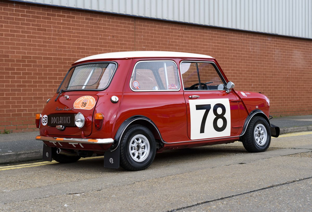 1967 Austin Mini Cooper Built to S Works Rally Specification For Sale (picture 3 of 24)