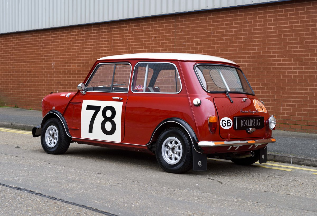 1967 Austin Mini Cooper Built to S Works Rally Specification For Sale (picture 4 of 24)