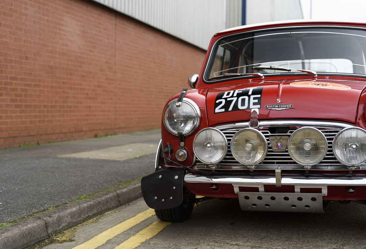 1967 Austin Mini Cooper Built to S Works Rally Specification For Sale (picture 12 of 24)