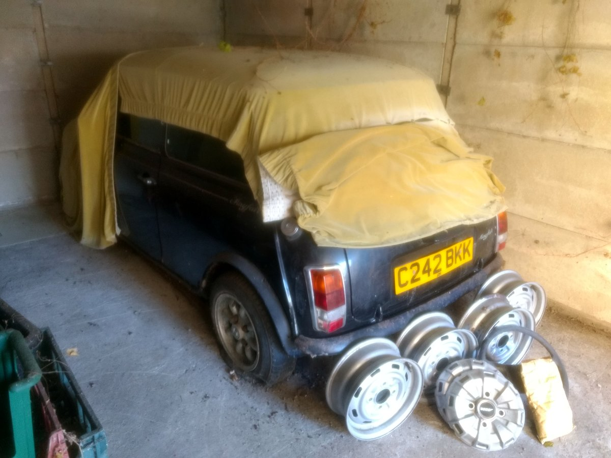 1985 Austin Mini Mayfair for auction 16th -17th July SOLD by Auction (picture 1 of 6)