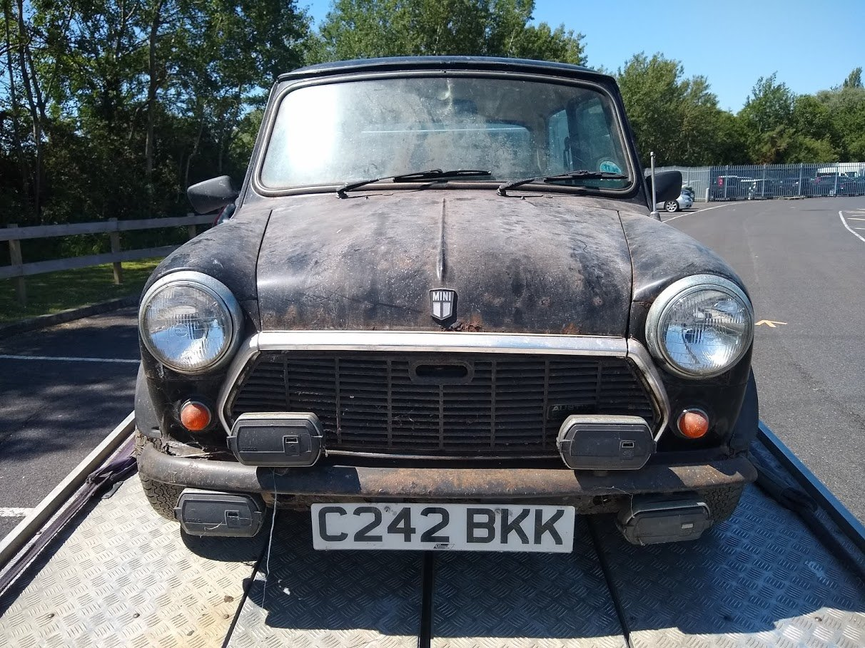 1985 Austin Mini Mayfair for auction 16th -17th July SOLD by Auction (picture 2 of 6)