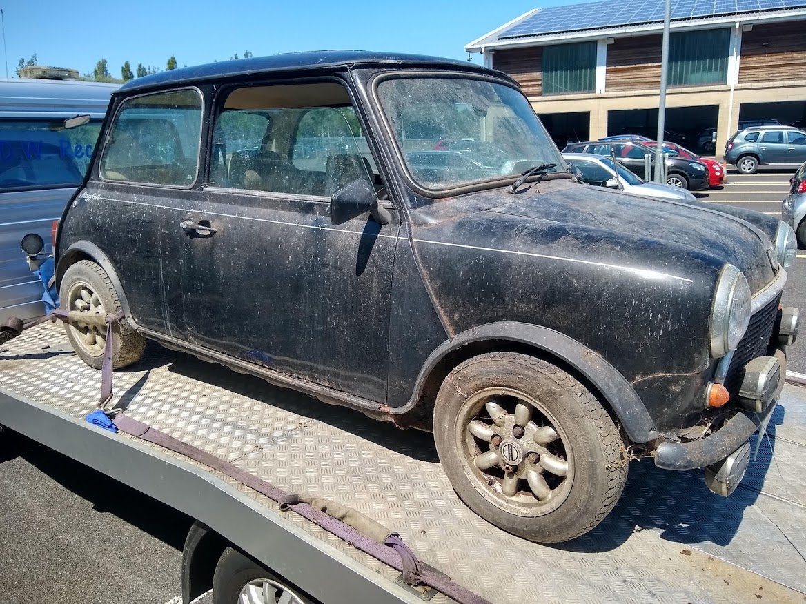 1985 Austin Mini Mayfair for auction 16th -17th July SOLD by Auction (picture 3 of 6)