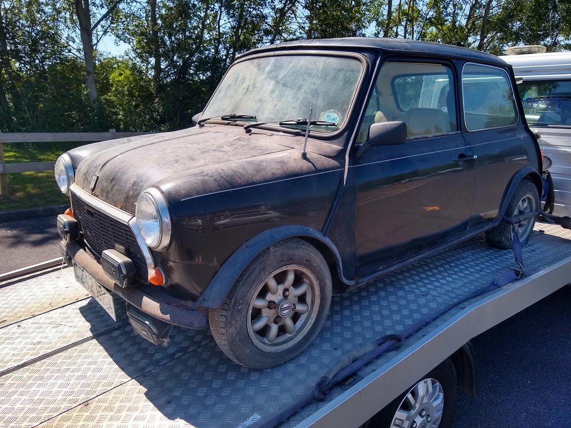 1985 Austin Mini Mayfair for auction 16th -17th July SOLD by Auction (picture 4 of 6)