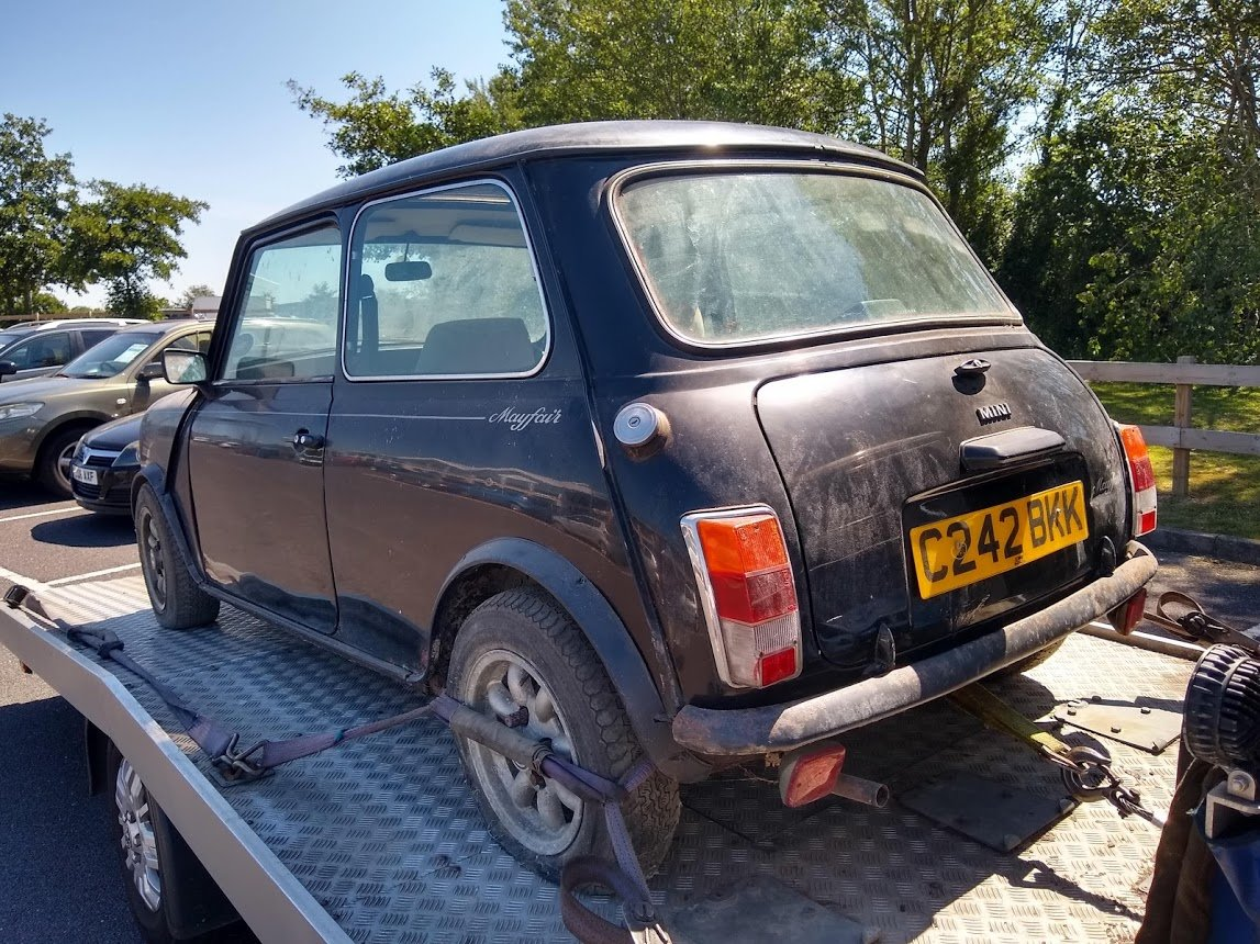 1985 Austin Mini Mayfair for auction 16th -17th July SOLD by Auction (picture 5 of 6)