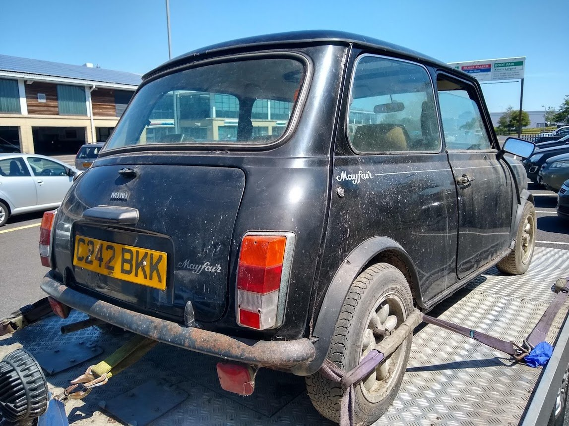 1985 Austin Mini Mayfair for auction 16th -17th July SOLD by Auction (picture 6 of 6)