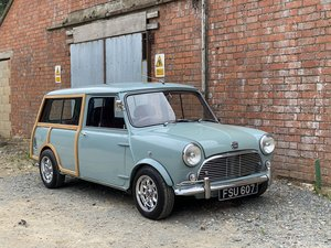 1963 Austin Mini Traveller. Restored With Modern Twist
