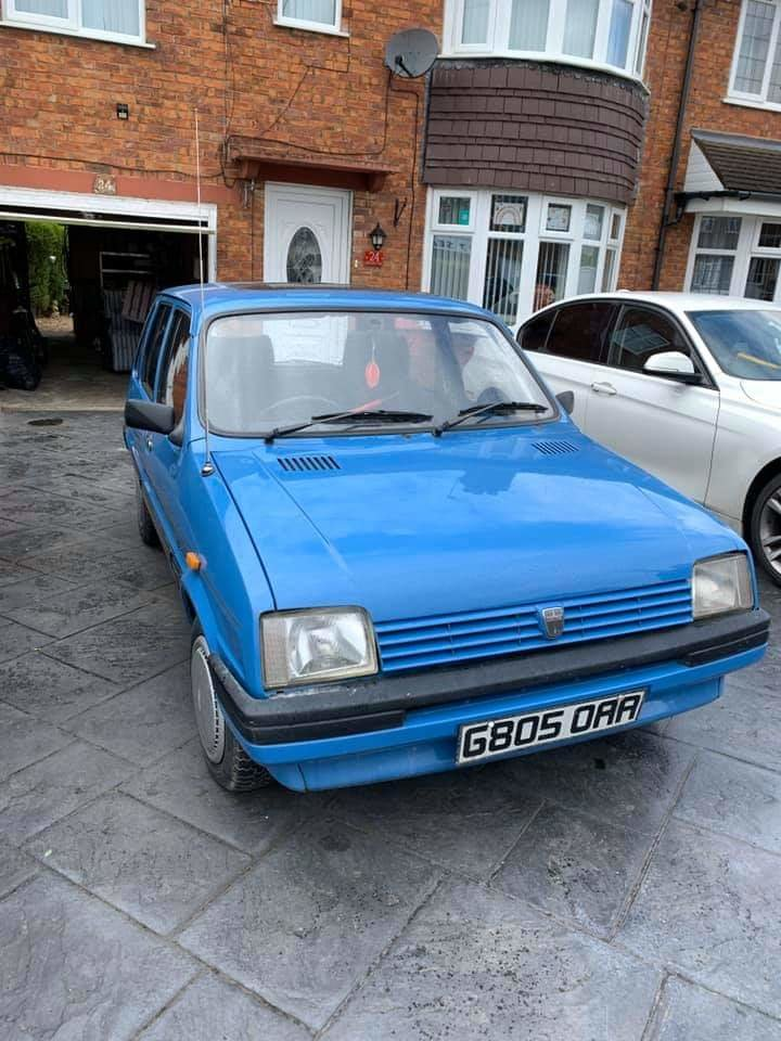 1989 Austin Metro Mk2 Lovely condition For Sale (picture 1 of 6)