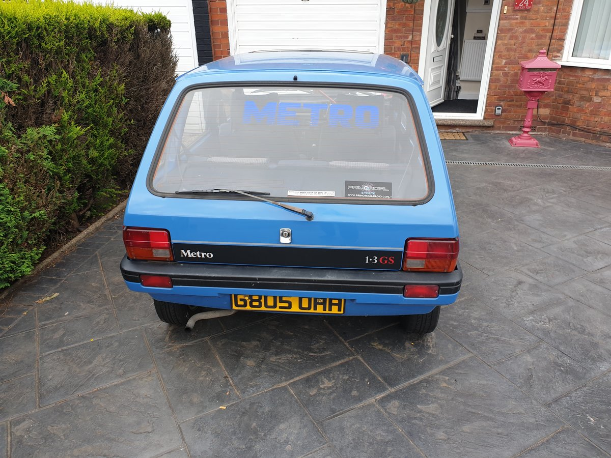 1989 Austin Metro Mk2 Lovely condition For Sale (picture 2 of 6)