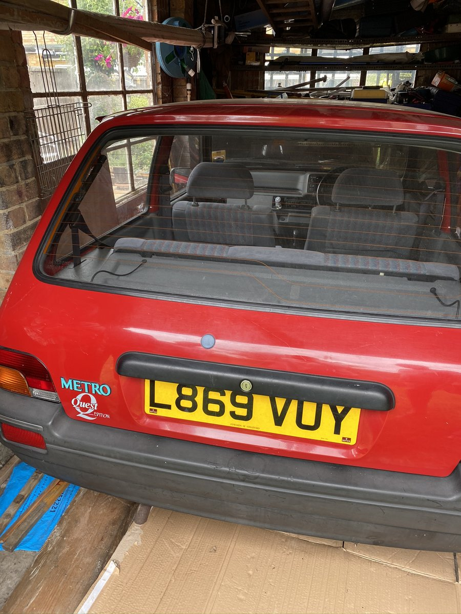1993 Rover Metro - Genuine 15,000 Miles SOLD (picture 2 of 4)