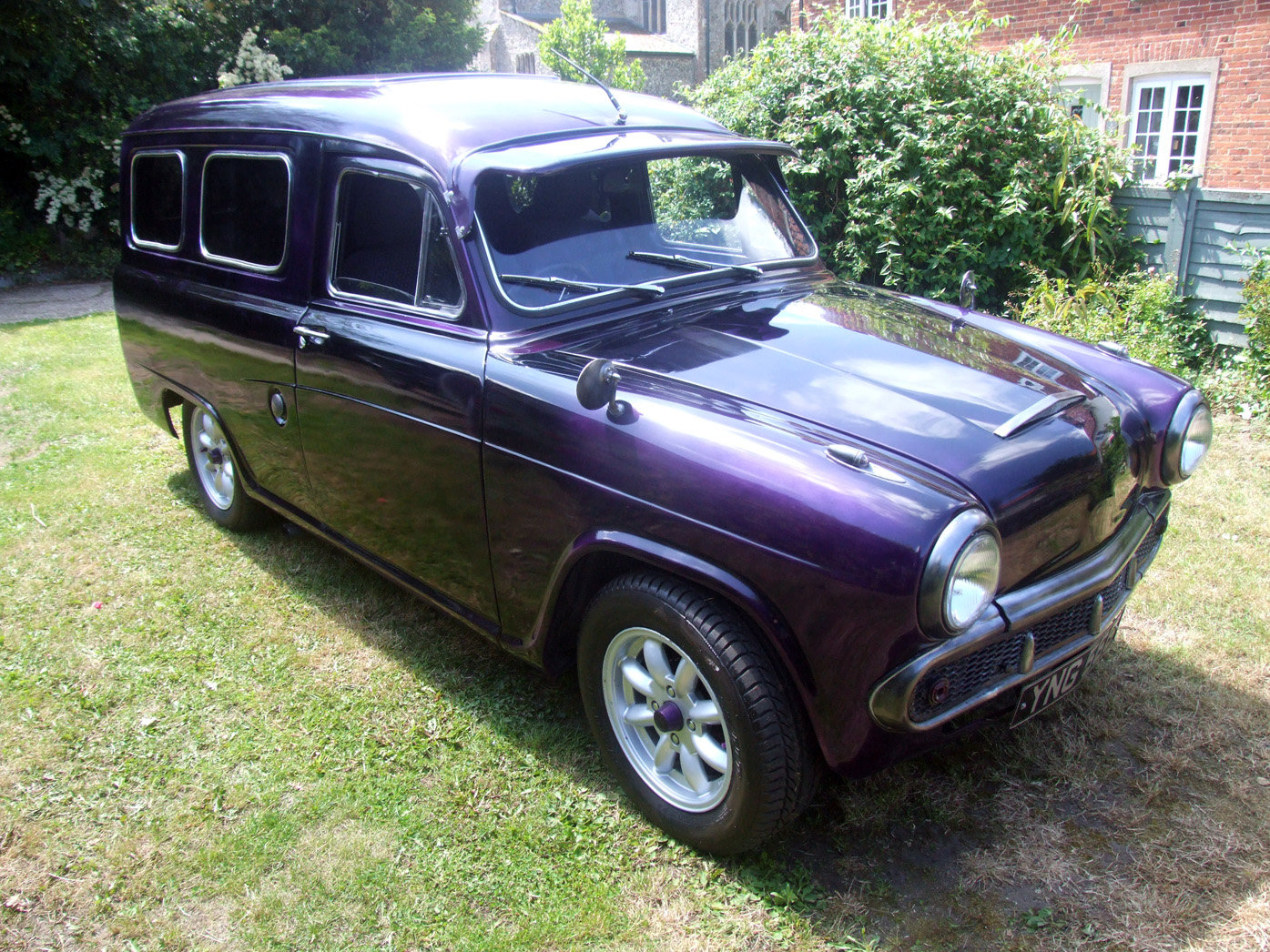 1958 Austin A55 Van ½ ton commercial - Custom For Sale (picture 1 of 6)