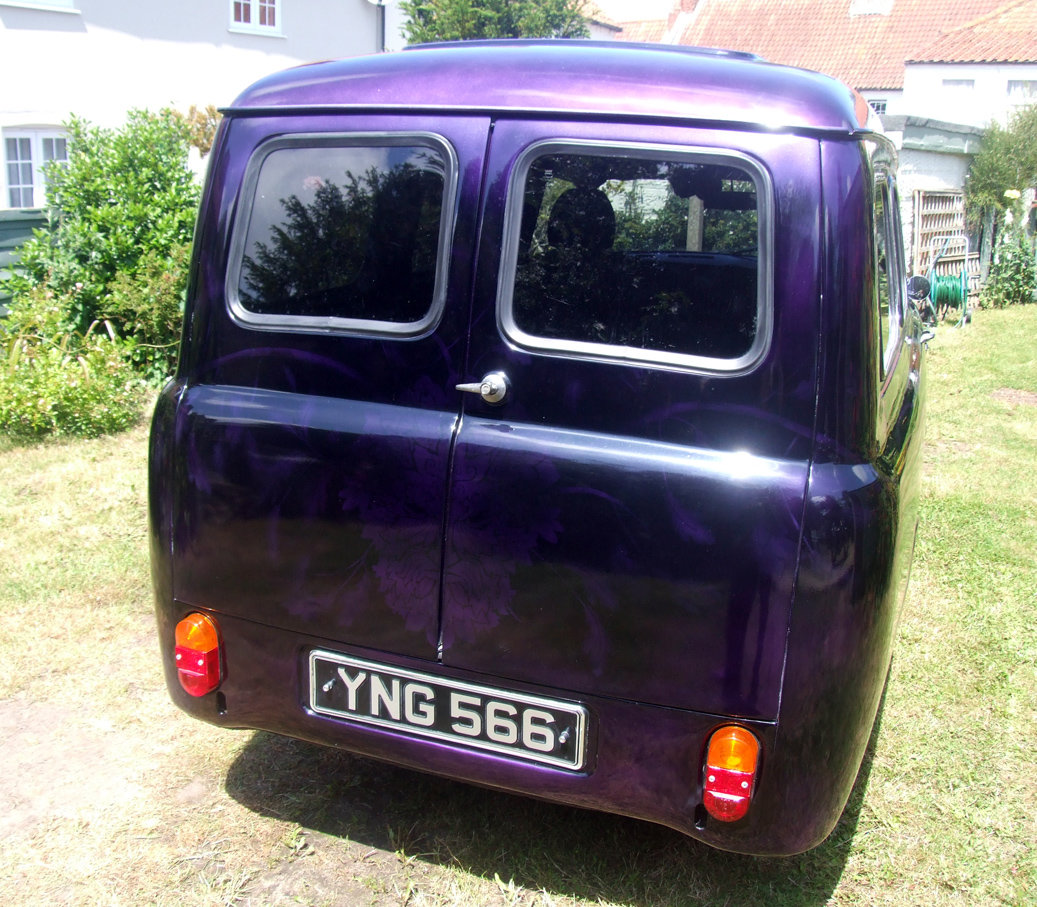 1958 Austin A55 Van ½ ton commercial - Custom For Sale (picture 2 of 6)