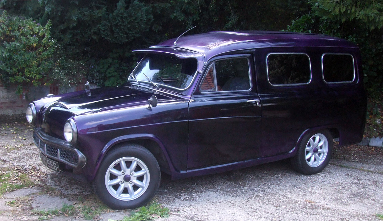1958 Austin A55 Van ½ ton commercial - Custom For Sale (picture 3 of 6)