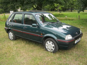 1994 ROVER METRO 1.1S 5 DOOR. MET. BRG. 28,000 MILES ONLY. For Sale