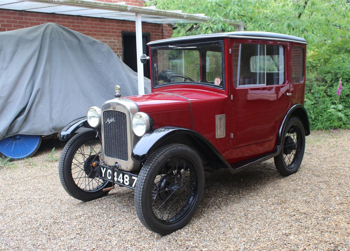 1928 Austin 7 lovely well cared for and ready to enjoy For Sale (picture 2 of 6)