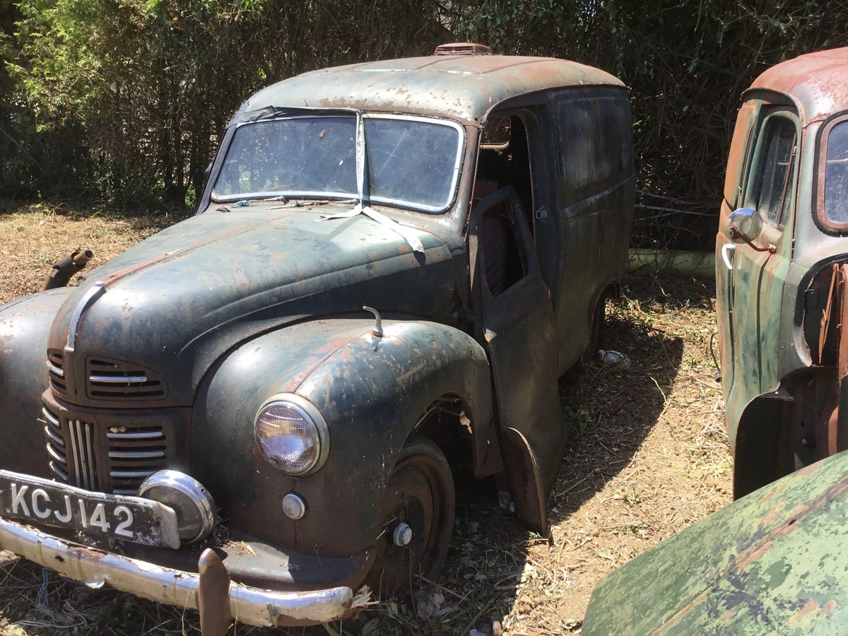 1953 A40 Devon vans x2 restoration projects For Sale (picture 6 of 6)