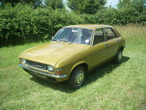 Austin Allegro 1300.  Very solid & drives well.