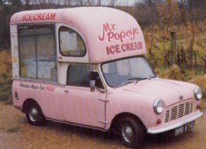 1966 Mini Ice Cream Van 848cc For Sale