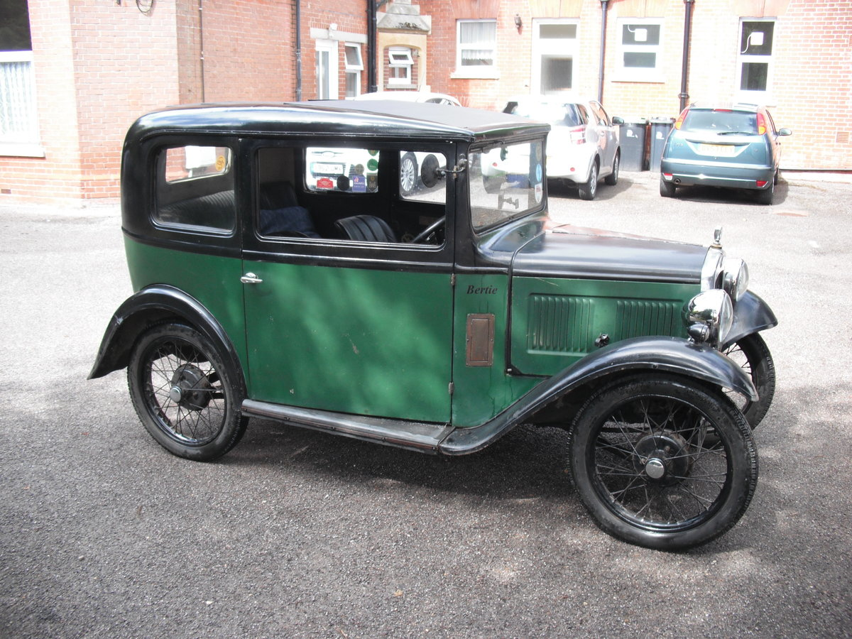 1931 Austin Seven RN SOLD (picture 1 of 6)