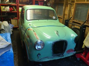1959 Austin A35 2 door rolling shell with V5