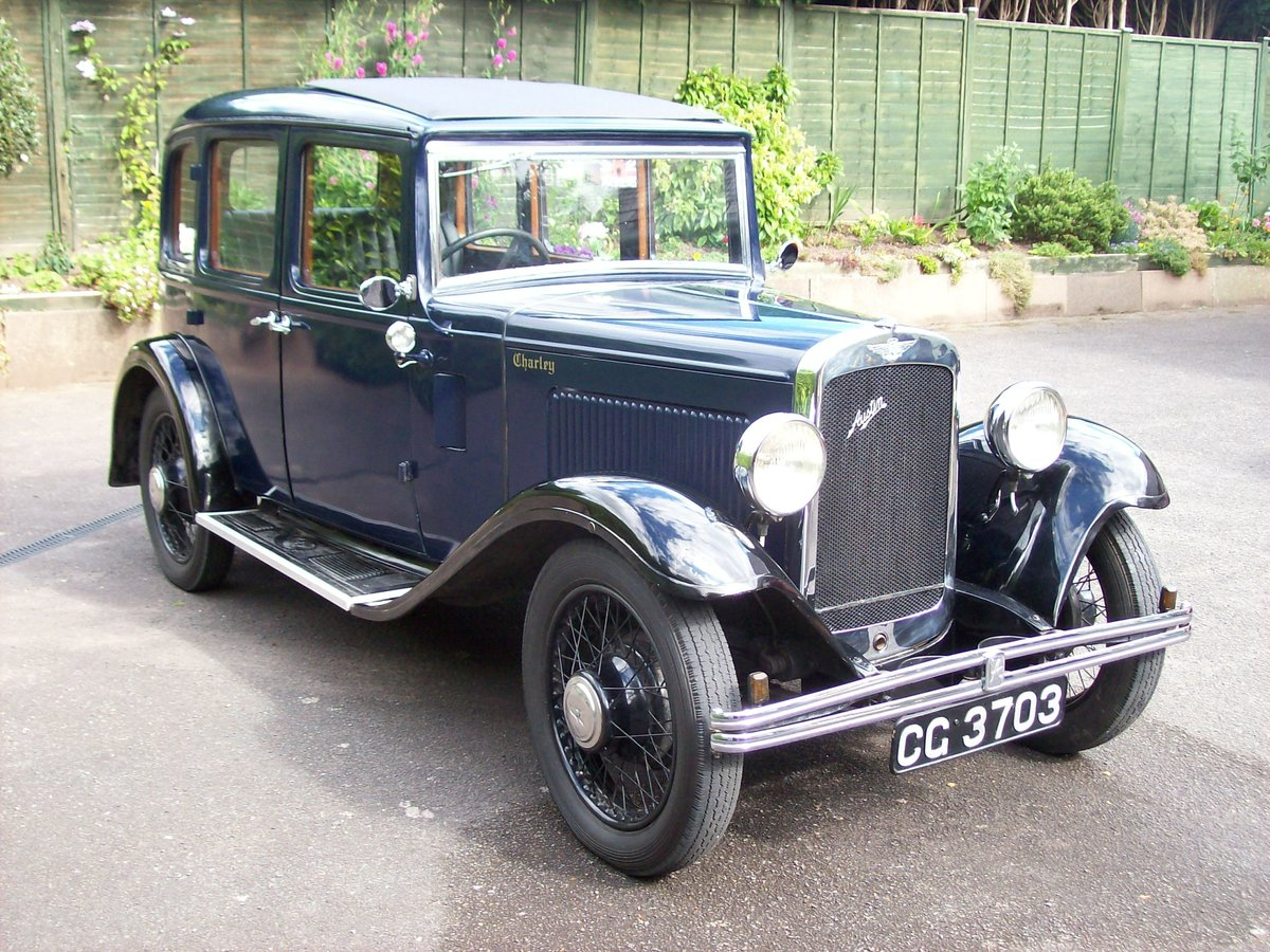 1933 Austin 12/4 Harley saloon SOLD (picture 1 of 6)