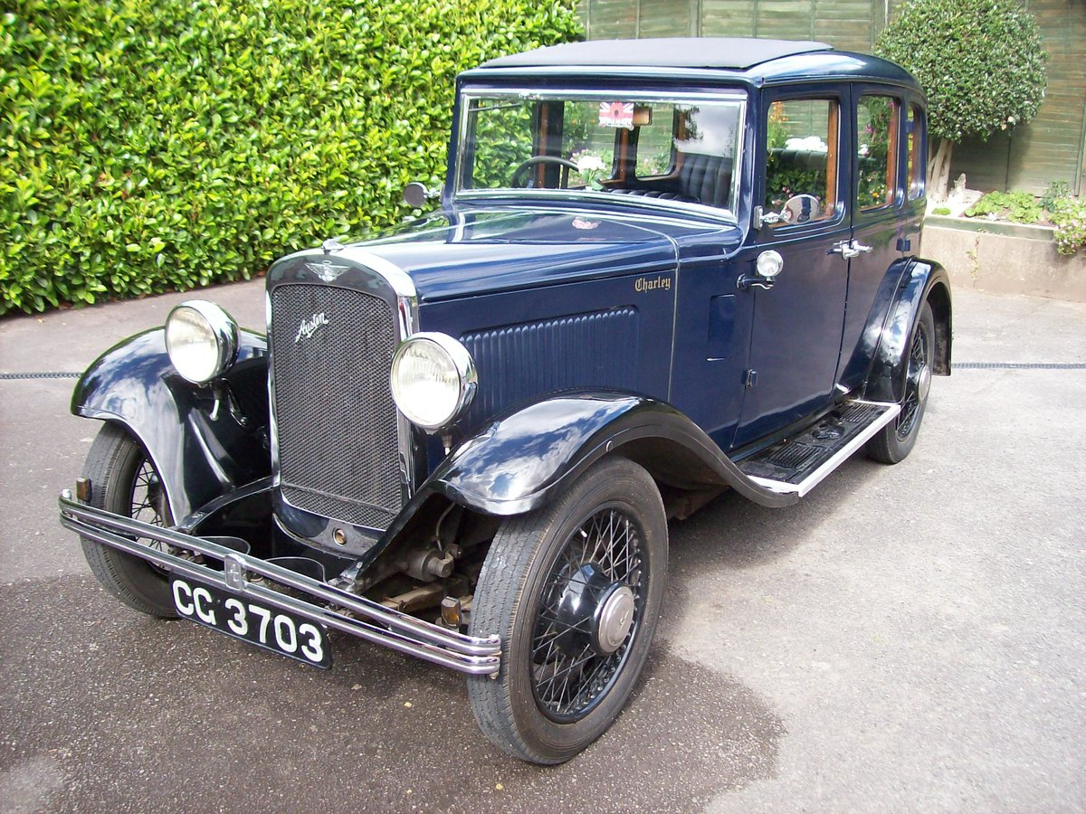 1933 Austin 12/4 Harley saloon SOLD (picture 2 of 6)