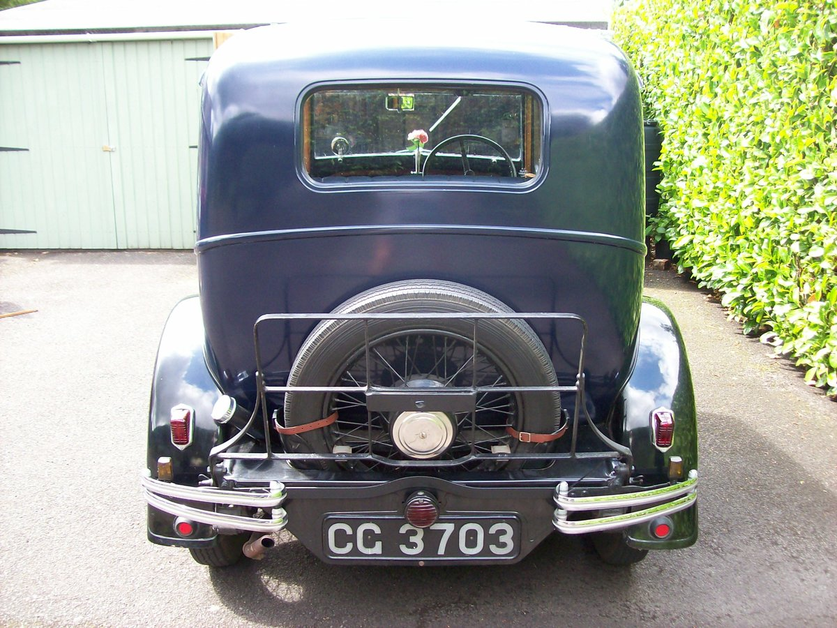 1933 Austin 12/4 Harley saloon SOLD (picture 4 of 6)
