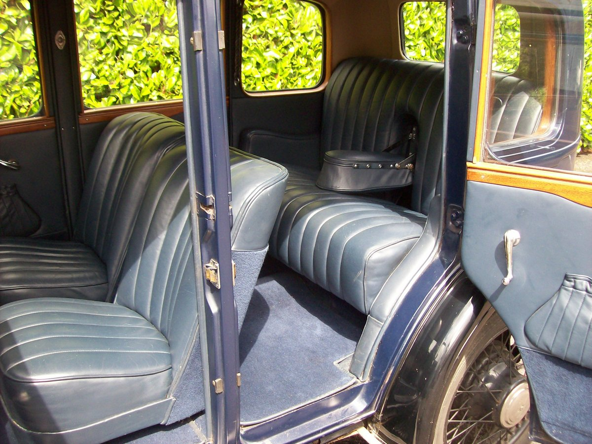 1933 Austin 12/4 Harley saloon SOLD (picture 5 of 6)