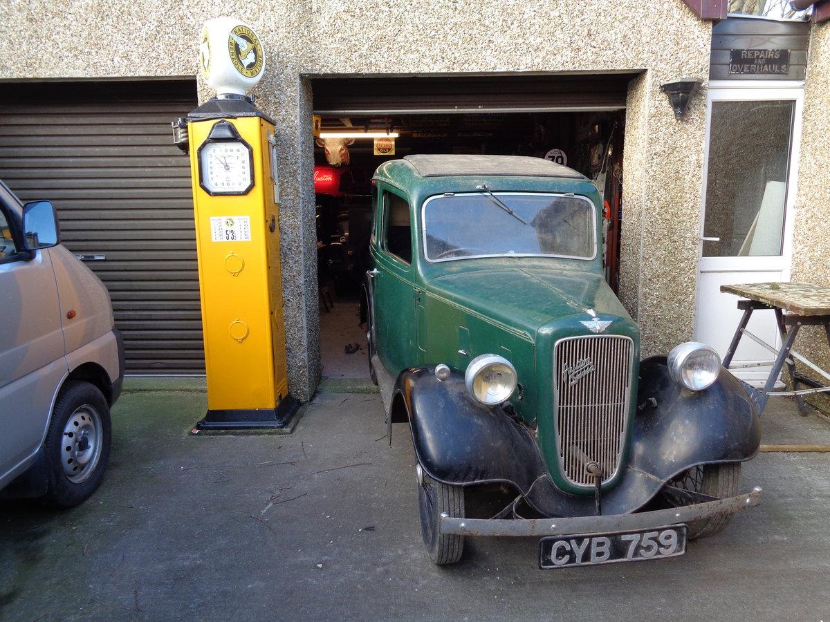 1937 ORIGINAL Austin Seven 7 Mk2 Ruby For Sale (picture 1 of 6)