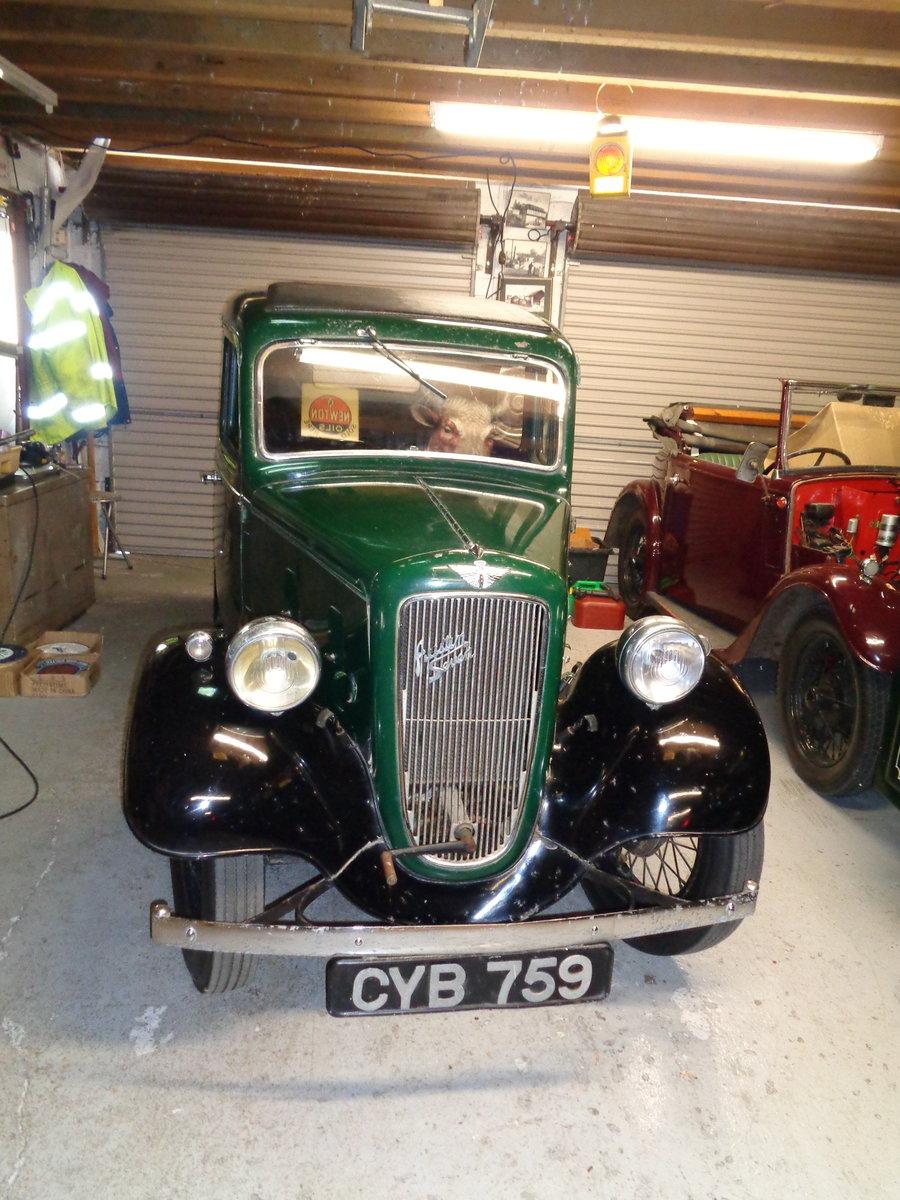1937 ORIGINAL Austin Seven 7 Mk2 Ruby For Sale (picture 2 of 6)