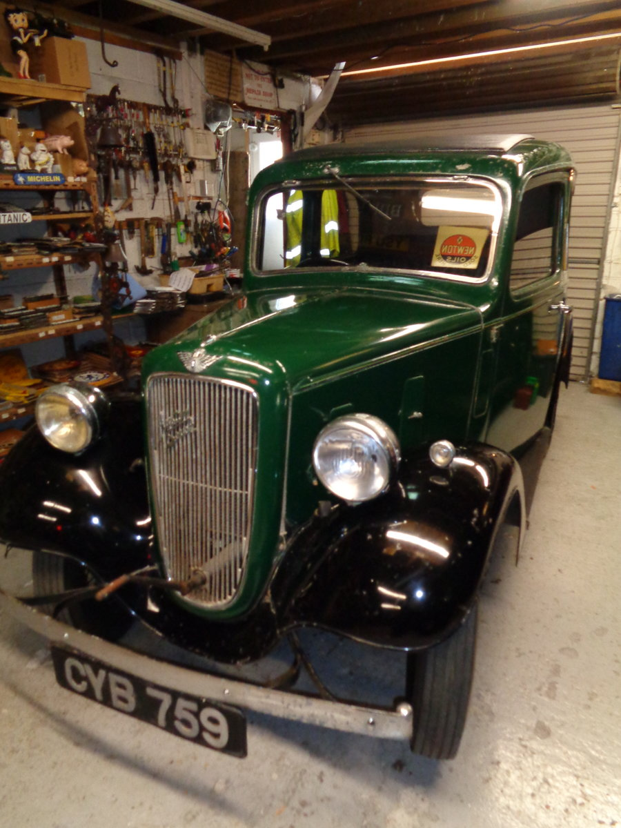 1937 ORIGINAL Austin Seven 7 Mk2 Ruby For Sale (picture 3 of 6)