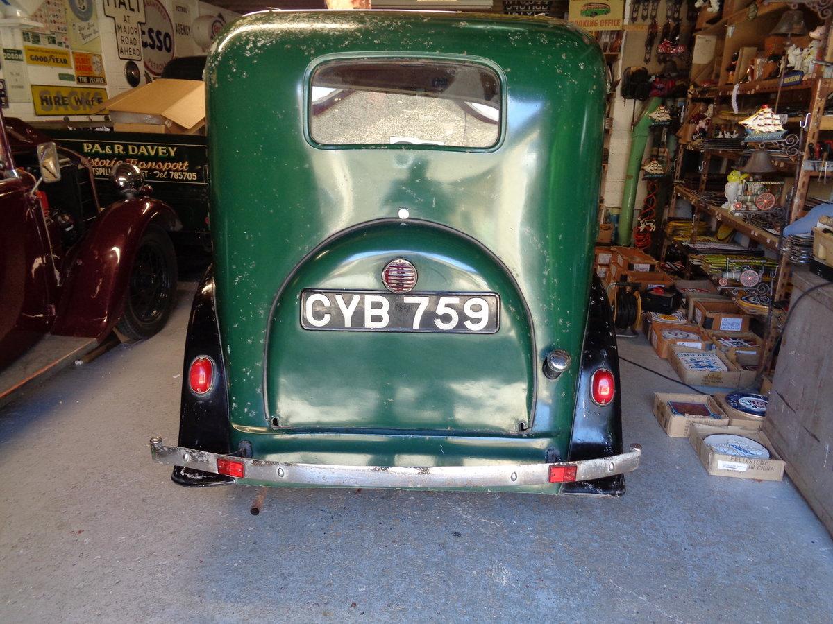 1937 ORIGINAL Austin Seven 7 Mk2 Ruby For Sale (picture 4 of 6)