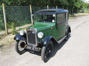 1933 Austin 7 RP Saloon with sunroof